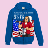 Ron Jeremy For President (Erection 2020) Hoodies (Zip-up)