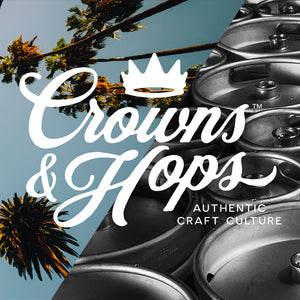 Crowns & Hops Craft Beer Brand