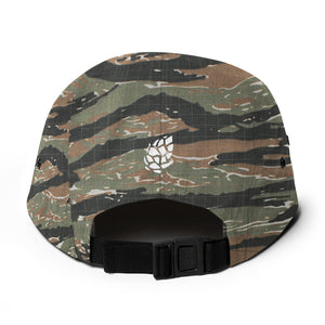 C&H Camo Five Panel Cap