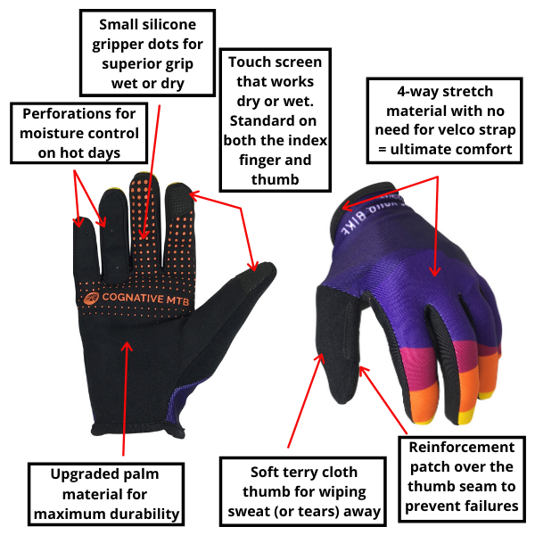 Cognative MTB Gloves