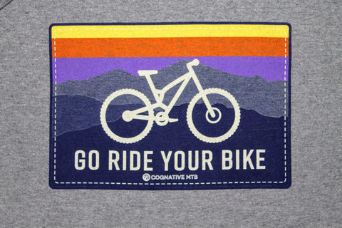 Go Ride Your Bike Hoodie