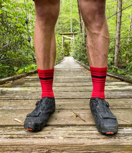Red MTB Socks