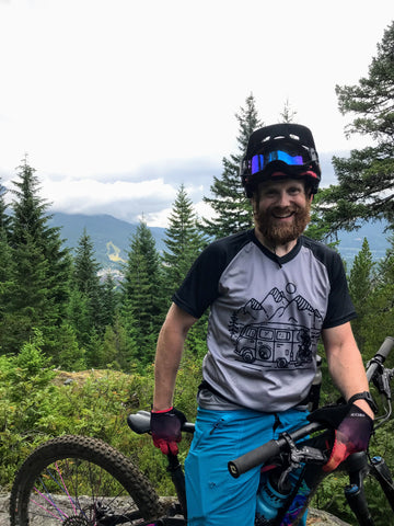 In Search of Singletrack MTB Mountain Bike Jersey
