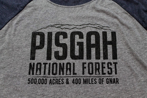 PISGAH NATIONAL FOREST MOUNTAIN BIKE SHIRT