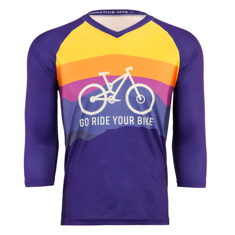 GO RIDE YOUR BIKE - TECH JERSEY (2 SLEEVE LENGTH OPTIONS)
