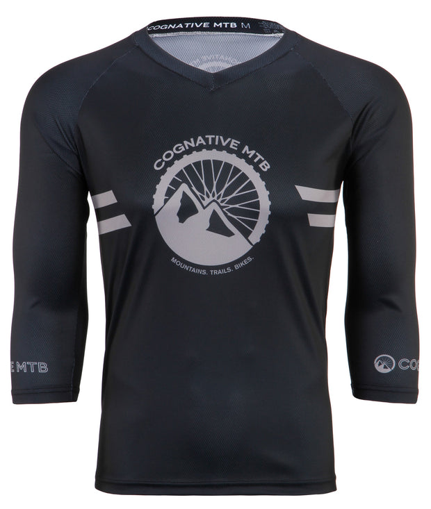 Black Mountain Bike Jersey