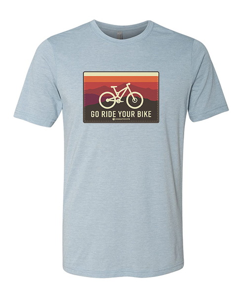 Go Ride Your Bike Men's Shirt (Horizon) - (2 Color Options)