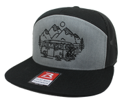 IN SEARCH OF SINGLETRACK - 7 PANEL TRUCKER (2 COLOR OPTIONS)