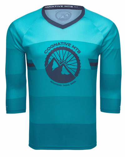 COGNATIVE STANDARD ISSUE - 3/4 SLEEVE TECH JERSEY (TEAL)