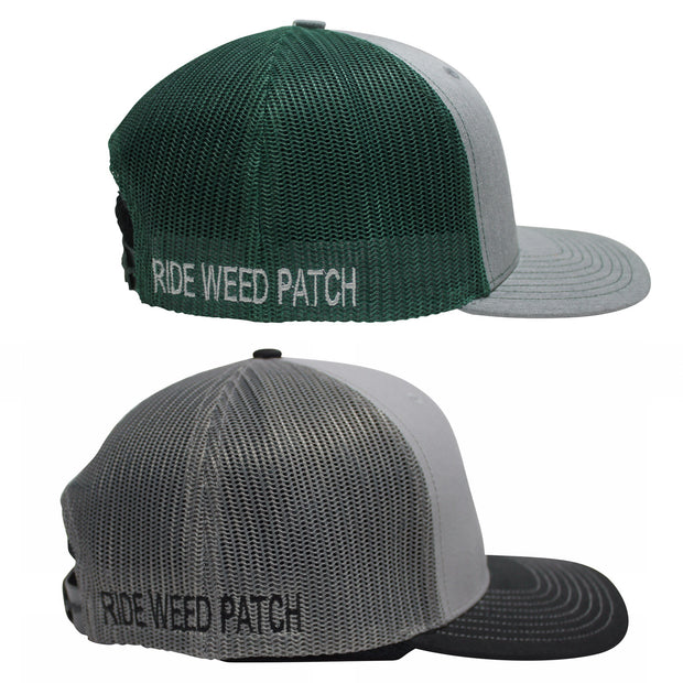 RIDE WEED PATCH MESH BACK TRUCKER HAT (2 COLOR OPTIONS)