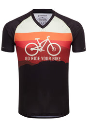 Go Ride Your Bike (Horizon) - MTB Tech 2.0 Jersey (2 Sleeve Length Options)