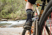 Jump Off Rock Wool Sock (Black/Army)