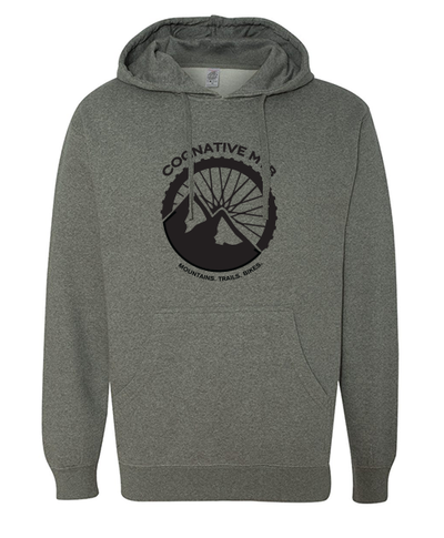 Cognative Logo Unisex Hoodie (Heather Gunmetal)