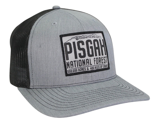 PISGAH GNAR MESH BACK HAT (Heather Grey)