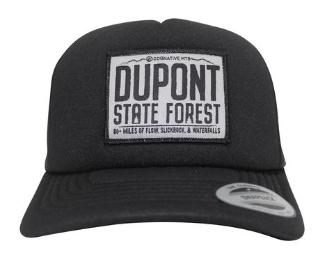 DUPONT STATE FOREST FLOW FOAM TRUCKER HAT (LOW PROFILE )