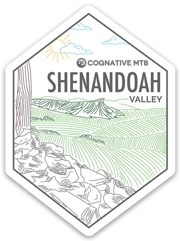 Shenandoah Valley Mountain Sticker