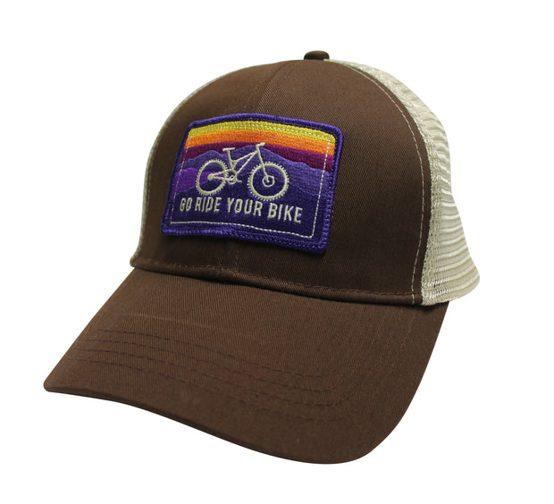 GO RIDE YOUR BIKE - ECO TRUCKER HAT (3 COLOR OPTIONS)