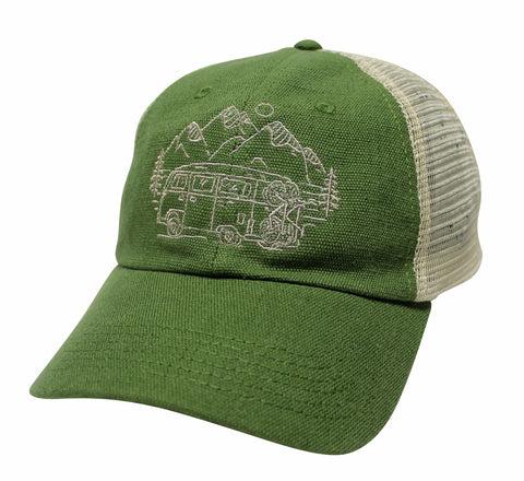 IN SEARCH OF SINGLETRACK - UNSTRUCTURED HEMP HAT