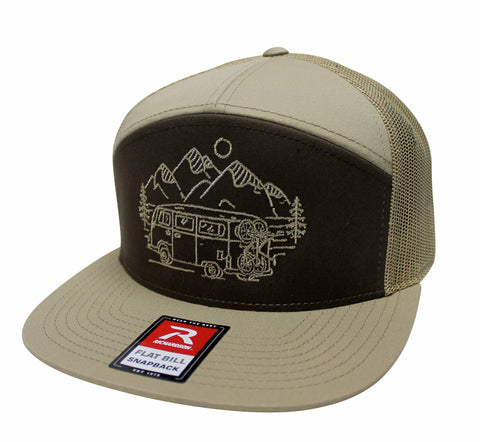 IN SEARCH OF SINGLETRACK - 7 PANEL TRUCKER (3 COLOR OPTIONS)