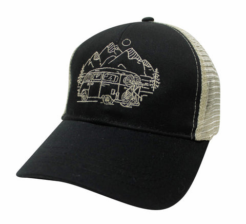 IN SEARCH OF SINGLETRACK - ECO TRUCKER HAT (4 COLOR OPTIONS)