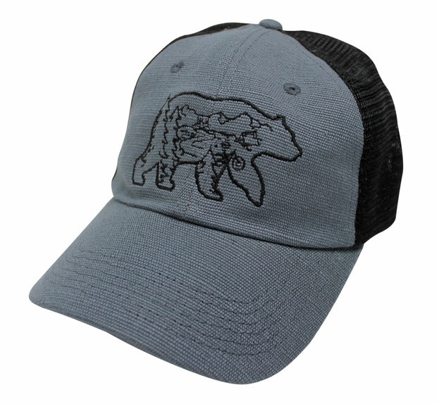 THE BEAR NECESSITIES  - UNSTRUCTURED HEMP HAT (3 COLOR OPTIONS)
