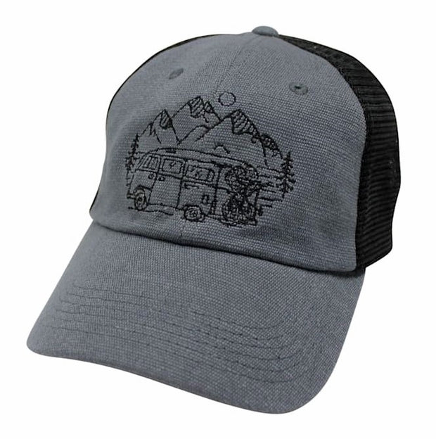IN SEARCH OF SINGLETRACK - UNSTRUCTURED HEMP HAT (3 COLOR OPTIONS)