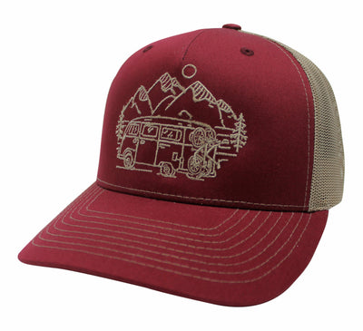 IN SEARCH OF SINGLETRACK  - MESH BACK TRUCKER (4 COLOR OPTIONS)