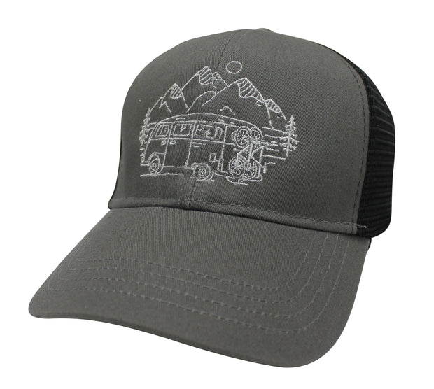 IN SEARCH OF SINGLETRACK - ECO TRUCKER HAT (5 COLOR OPTIONS)