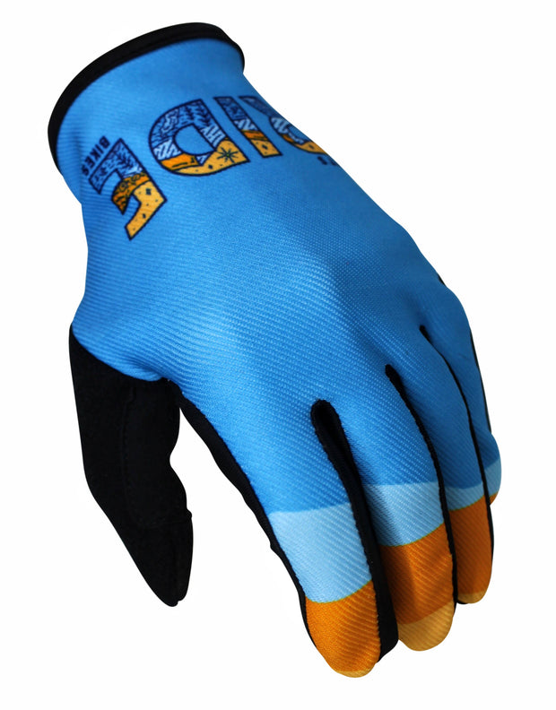 Let's Ride Bikes mountain bike youth gloves
