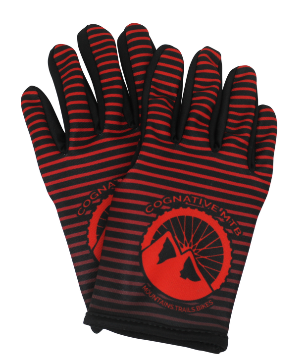 Red Mountain Bike Gloves