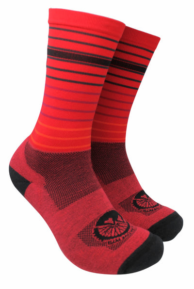 Red Mountain Bike Socks