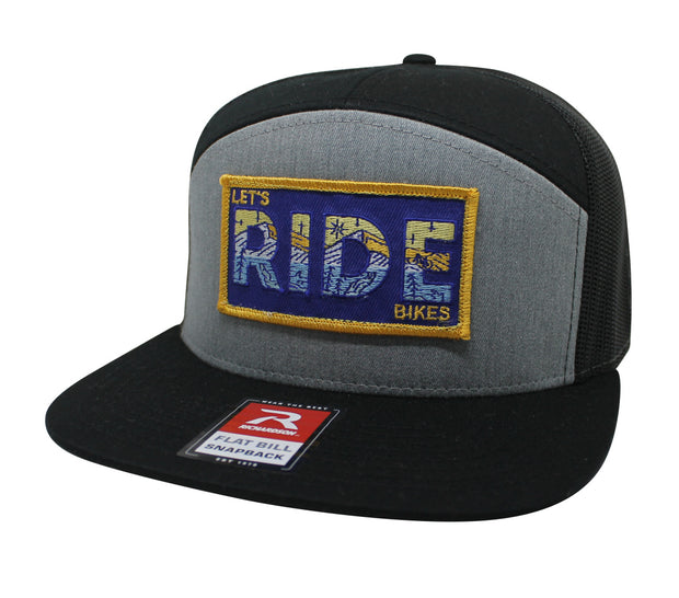LET'S RIDE BIKES - 7 PANEL TRUCKER (2 COLOR OPTIONS)