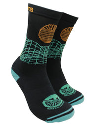 "IN SEARCH OF SINGLETRACK ""GRID"" - MTB TECH SOCK"