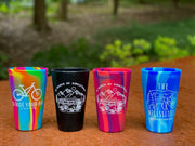 In Search of Singletrack 16oz Silipint Drinkware - True American Pint (2 Color Options)