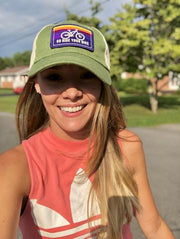 GO RIDE YOUR BIKE - HEMP HAT (3 COLOR OPTIONS)