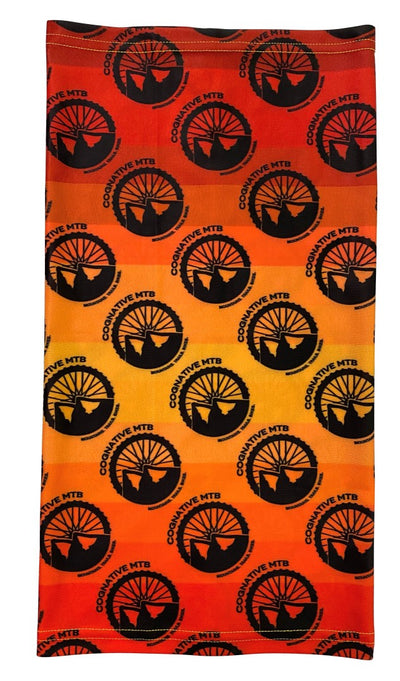 Neck Gaiter - Cognative Logo (Orange)