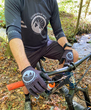 Cognative Black Mountain Bike Gloves