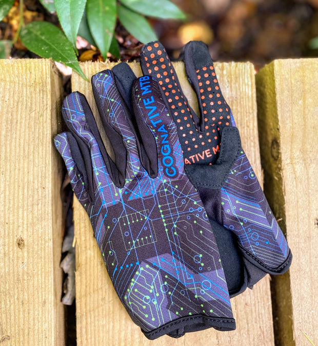 Circuit Board Mountain Bike Glove