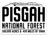 PISGAH GNAR STICKER