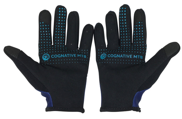 The Bear Necessities MTB Mountain Bike Gloves palm view