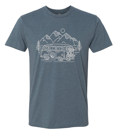 IN SEARCH OF SINGLETRACK SHIRT  (INDIGO)