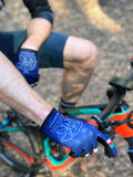 The Bear Necessities MTB Mountain Bike Gloves on mountain biker