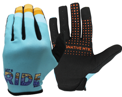 LET'S RIDE BIKES MTB TECH 2.0 GLOVE