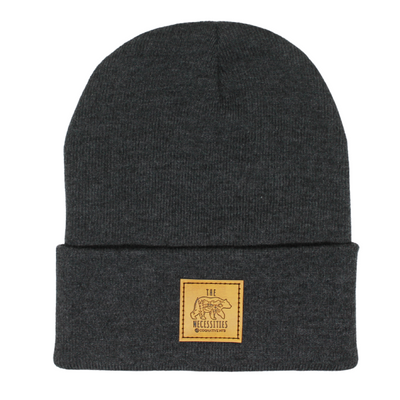 The Bear Necessities Beanie (Tan Patch)