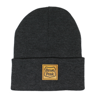 Berm Peak Ranger Logo Beanie (Tan Patch)