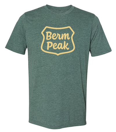 BERM PEAK RANGER LOGO MEN'S SHIRT (2 COLOR OPTIONS)
