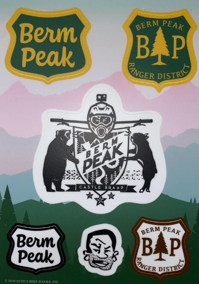BERM PEAK STICKER KIT