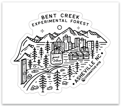 BENT CREEK - STICKER