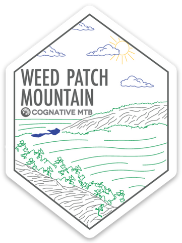 WEED PATCH MOUNTAIN - STICKER