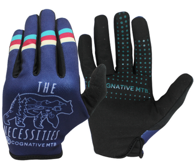 Blue Mountain Bike Gloves